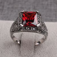 #Cool Fashion Trends #Rings #Black #Rhinestones Ruby Garnet Stone Luxury Designs #Men Gifts Anniversary Rings http://hz.aliexpress.com/store/633939