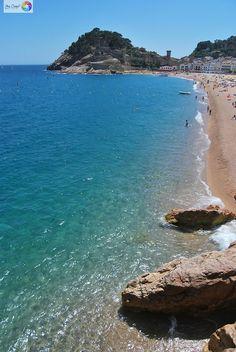 Tossa de mar /Tosa de Mar, en la Costa Brava, Gerona.