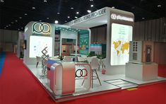 Custom Pavilion & Double Decker stands for UAE trade shows. Exhibition Booth Design, Exhibition Stands, Companies In Dubai, Ceiling Design, My Design, Stalls, Exhibitions, Organizing, Furniture