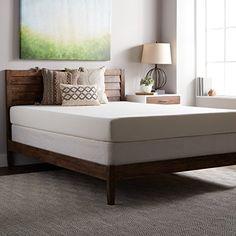 Select Luxury SL Loft Medium Firm 8-inch Queen Size Memory Foam Mattress and Foundation Set