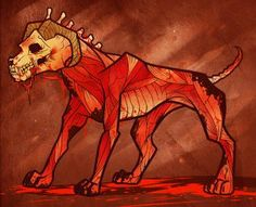 How to Draw a Hellhound Hell Hound Step by Step Fantasy Characters . Fantasy Creatures, Mythical Creatures, Fantasy Landscape, Fantasy Art, Hellhound Tattoo, Scary Dogs, Creepy Art, Creepy Stuff, Online Drawing