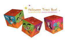 J. Bell Studio: Free printable Halloween Treat Box!