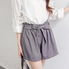Tie-Waist Shorts from #YesStyle <3 Tokyo Fashion YesStyle.co.uk