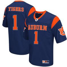 Auburn Tigers Colosseum Big & Tall Football Jersey - Navy