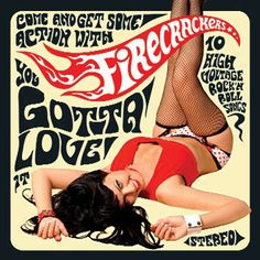 I love this Psychedelic style record cover made even better by the lady in black fishnet stockings and suspeners.