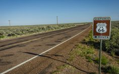 47 National Parks on 1 amazing road trip.  Route 66 through the Petrified Forest National Park.