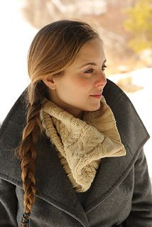 Mt Katahdin Cowl by Bristol Ivy in Swans Island Natural Colors Merino Worsted