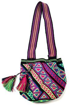 Wayuu Black Bag