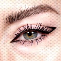 8 Easy Minimal Eye Makeup Looks That Will Turn Heads - UKYou can find Cat eye makeup and more on our Easy Minimal Eye Makeup Looks . Best Face Makeup, Cat Eye Makeup, Best Drugstore Mascara, Best Mascara, Eyeliner, Coloured Contact Lenses, Mascara Review, Models, Cool Eyes