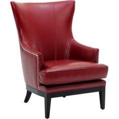 Reynaldo Arm Chair in Oxblood at Joss & Main
