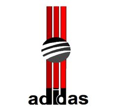 Adidas, new, three, stripes, logo, design, 2016.