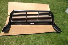 New Dee Zee Louvered Cab Rack w/ Tie Downs and Clamps – auto parts – by owner