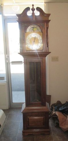Vintage Emperor Grandfather Clock Model 300