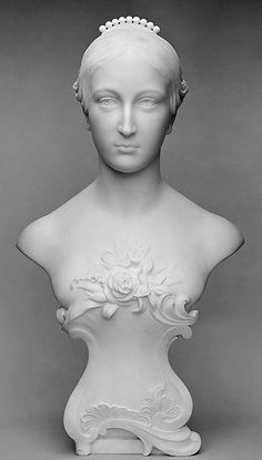 Mary Justina de Peyster. George Edwin Bissell  (American, New Preston, Connecticut 1839–1920 Mount Vernon, New York).  Date:     late 1880s. Medium:     Marble