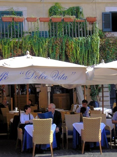 Cafeteria Dolce Vita, Rome - Roma, Italy