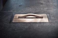 Detail kitchen by Dirk Cousaert Design