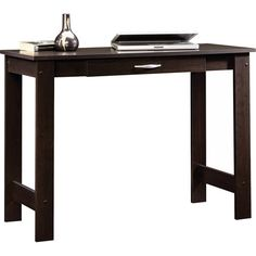 Modern Writing Table Computer Desk Home Office Dorm Wood Furniture Laptop School Dorm Furniture, Home Office Furniture, Furniture Deals, Armoire, Cherry Desk, Sauder Woodworking, Best Desk, Thing 1, Writing Table