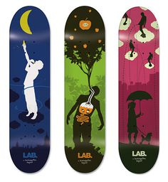 LAB skateboard design