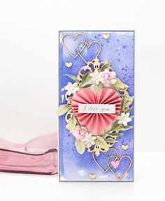 Crafty by AgnieszkaBe: I-Kropka I Card, Give It To Me, Paper Crafts, Valentines, Crafty, Valentine's Day Diy, Valantine Day, Papercraft, Valentine's Day