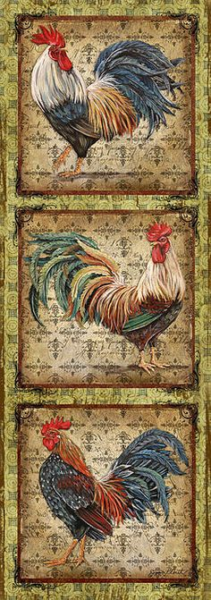 I uploaded new artwork to fineartamerica.com! - 'Le Coq Trio-a' - http://fineartamerica.com/featured/le-coq-trio-a-jean-plout.html via @fineartamerica