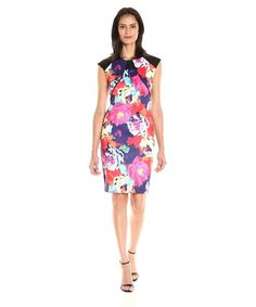 online shopping for Sangria Women's Cap Sleeve Floral Print Midi Sheath Dress from top store. See new offer for Sangria Women's Cap Sleeve Floral Print Midi Sheath Dress Floral Dress Outfits, Fashion Dresses, Women's Dresses, Work Dresses For Women, Clothes For Women, Ibiza Dress, Different Dress Styles, Sheath Dress, Sangria