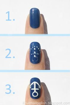 Everyone could get anchors on their nails?