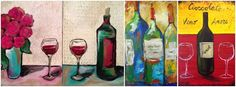 MAY 20 ART & WINE - PINTURA SOBRE LIENZO