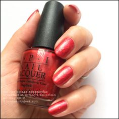 OPI Fire Escape Rendezvous – OPI Holiday 2016