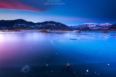 Icy Sunset by Michele Rossetti on 500px