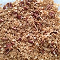 5 Ingredient Granola recipe - I used this as a base along with another recipe to make my granola. Very tasty.