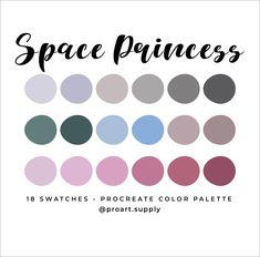 Colour Schemes, Color Combos, Skin Color Palette, Princess Coloring, Space Princess, Color Psychology, Color Stories, Color Swatches, Pantone Color