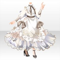 A white Dress Drawing, Drawing Clothes, Anime Outfits, Cool Outfits, Play Clothing, Anime Dress, Fantasy Dress, Themed Outfits, Character Outfits