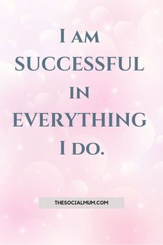 You are successful in all you do! Repeat it daily! Discover the Mindset Hack You Need To Succeed. Mindset Traits of Worlds´s most Successful Entrepreneurs. AND How to ULOCK THEM IN YOURSELF to experience better results in everything you do. Affirmations For Women, Positive Affirmations Quotes, Wealth Affirmations, Morning Affirmations, Law Of Attraction Affirmations, Affirmation Quotes, Positive Quotes, Career Affirmations, Quotes Dream