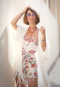 летний образ, летний лук, образ для жарких дней, цветочный принт, комбинезоны на лето, что надеть летом, что надеть в жаркую погоду,