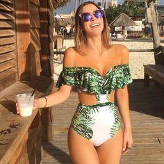 One Piece Swimsuit Sexy Swimwear Women 2017 Summer Beach Wear Bathing Suit Bandage Backless Halter Top Monokini купальник costum de baie One Piece Bikini, Bikini Set, Bikini Dorado, Backless Halter Top, Halter Neck, Stuck, Monokini Swimsuits, Women's Swimwear, Beach Wear