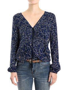 BLUSA PRINT COMPOSSE - Lemon