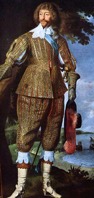 """Henry Rich, First Earl of Holland"" Century elborately decorated, doublet with breeches 17th Century Clothing, 17th Century Fashion, 18th Century, Historical Costume, Historical Clothing, Baroque Fashion, Vintage Fashion, Dinastia Tudor, Mary Boleyn"