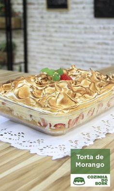 Portuguese Desserts, Portuguese Recipes, Cheesecakes, Mousse, Taste Made, Banoffee, Sweet Pie, No Bake Desserts, Cake Cookies