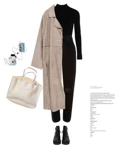 A fashion look from August 2017 featuring zara coats, high rise jeans and laced up boots. Browse and shop related looks. Cool Outfits, Casual Outfits, Fashion Outfits, Womens Fashion, Mode Pastel, Outing Outfit, University Outfit, Korean Girl Fashion, Queen Fashion
