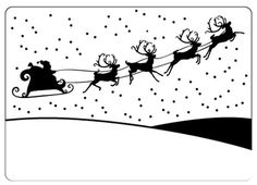 Crafts Too Embossing Folder - Sleigh CTFD4011