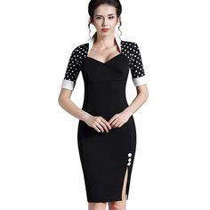 Polka Dots Dress S-5XL