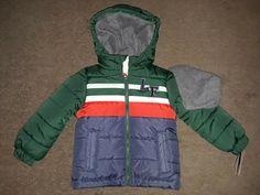 London Fog Toddler Boys Crimson Red Barn Jacket Size 2T 3T 4T
