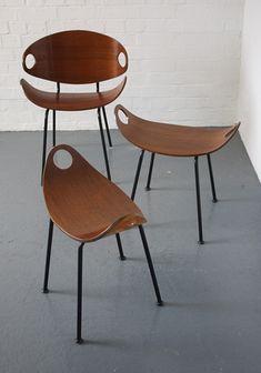 Olavi Kettunen stools for J. Merivaara