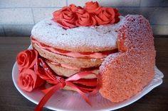 Sonia Mascioli #cakedesign #sanvalentino Pancakes, Breakfast, Ethnic Recipes, Food, Morning Coffee, Essen, Pancake, Meals, Yemek