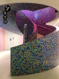 Treppe im Museum Groningen, NL