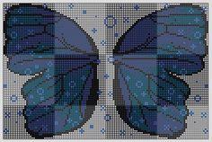 Butterfly wings perler