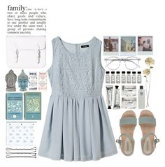 """""""family"""" by tickling ❤ liked on Polyvore featuring L'Autre Chose, Polaroid, Wildfox, Jayson Home and Erno Laszlo"""