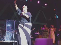 Tamela Mann at the Dennys Gospel Explosion