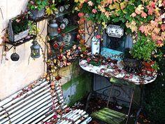 'Das Gartenlokal' von Dirk h. Wendt bei artflakes.com als Poster oder Kunstdruck $18.03