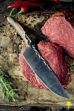 I love nature & Lotar Knives - Chef Knife by www.ilovenature.pl, via Flickr